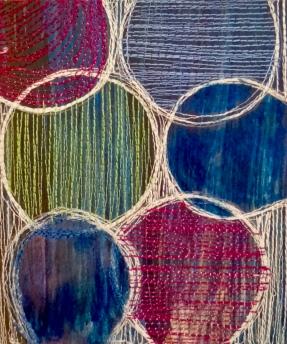'Stitch onto Paper 5' Machine stitch onto paper